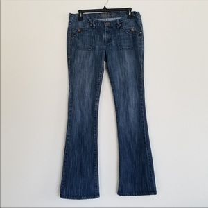 Bluenotes Bootcut Jeans with Button Pocket